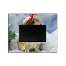 Bunny Christmas Ornament Picture Frame