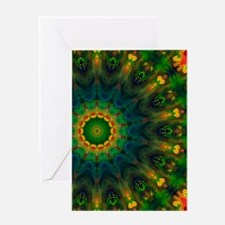 Passion Art Mandala 7 Greeting Card