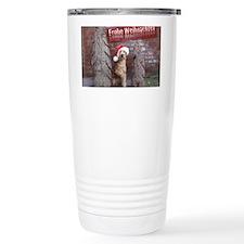 Frohe Weihnachten Irish Travel Mug
