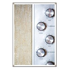 Knobs in a recording studio Banner