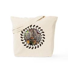 morel and gnome art Tote Bag