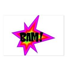 BAM! Postcards (Package of 8)