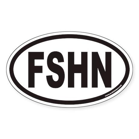 FSHN Euro Oval Sticker