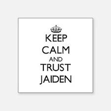 Keep Calm and TRUST Jaiden Sticker