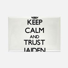 Keep Calm and TRUST Jaiden Magnets