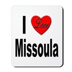 I Love Missoula Mousepad