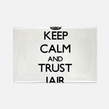 Keep Calm and TRUST Jair Magnets