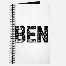 Ben Journal