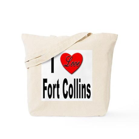 I Love Fort Collins Tote Bag