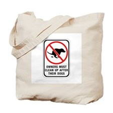 Owners Must Clean Up, Australia Tote Bag