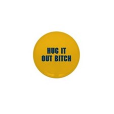 Hug It Out Mini Button (100 pack)