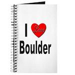 I Love Boulder Journal
