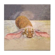 Lop Eared Bunny Art Tile