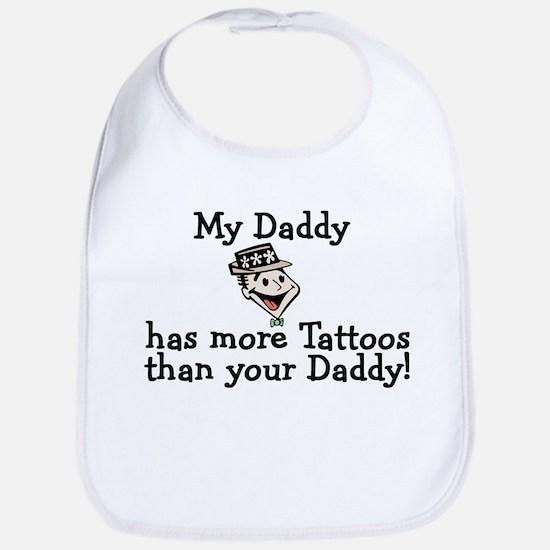 My Daddy has more tattoos Bib
