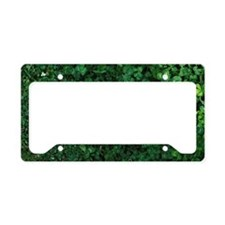 earth on the green License Plate Holder