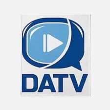 DATV Logo Throw Blanket