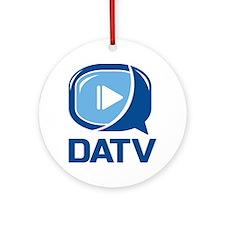 DATV Logo Round Ornament