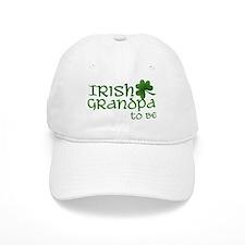 irish grandpa to be Baseball Cap