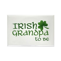 irish grandpa to be Rectangle Magnet
