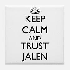 Keep Calm and TRUST Jalen Tile Coaster