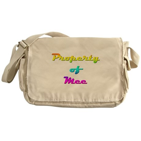Property Of Mee Female Messenger Bag