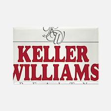Keller Williams Realty Rectangle Magnet