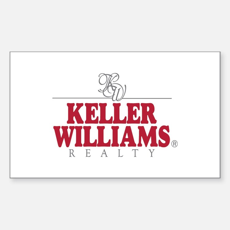Keller Williams Realty Rectangle Decal