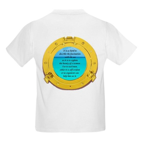 Beauty of the Sea Kids Light T-Shirt