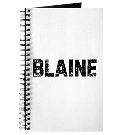 Blaine Journal