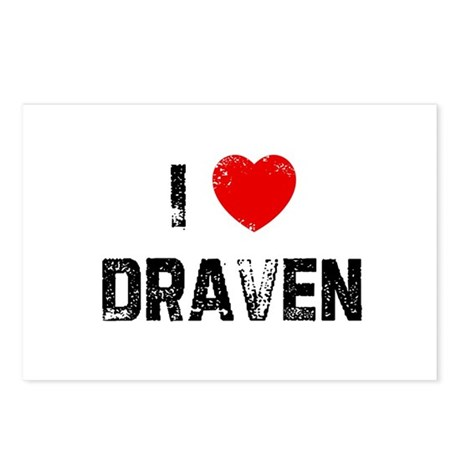 I * Draven Postcards (Package of 8)
