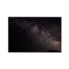 Milky way Rectangle Magnet