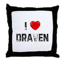 I * Draven Throw Pillow