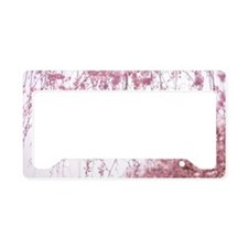 Cherry blossom License Plate Holder