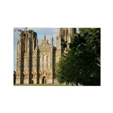 Wells Cathedral Green, Wells, Eng Rectangle Magnet