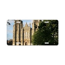 Wells Cathedral Green, Well Aluminum License Plate
