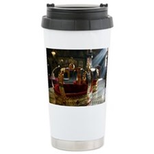 Orthodox wedding crowns Travel Mug