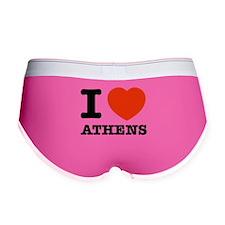 I LOVE Athens Women's Boy Brief