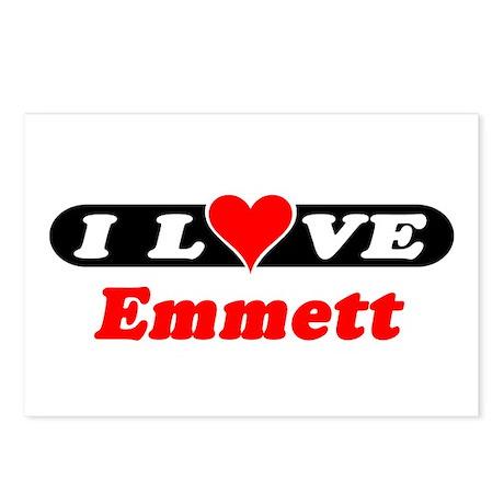 I Love Emmett Postcards (Package of 8)
