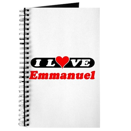I Love Emmanuel Journal