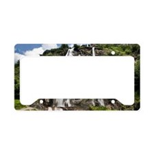 Chiavenna waterfalls, norther License Plate Holder
