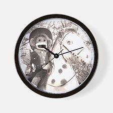 Cowgirl Emma Wall Clock