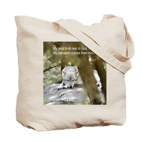 My Soul is at Rest Tote Bag