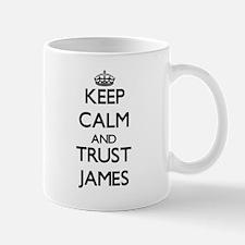 Keep Calm and TRUST James Mugs