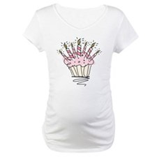 Cupcake with Birthday candles Shirt
