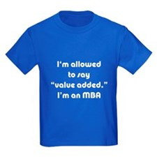 Value Added MBA T