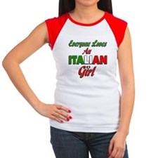 Everyone Loves an Italian Girl Tee