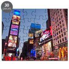 USA, New York State, New York City, Times S Puzzle