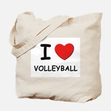 I love volleyball Tote Bag