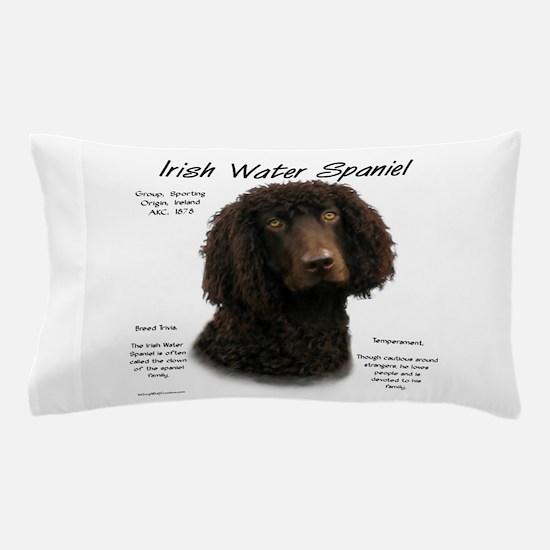 Irish Water Spaniel Pillow Case