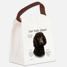 Irish Water Spaniel Canvas Lunch Bag
